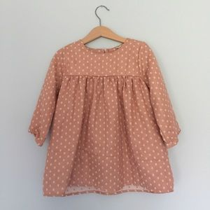Other - Toddler peach dress